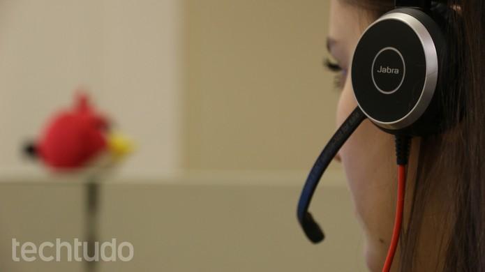 Jabra Evolve 40 UC Stereo (Foto: Lucas Mendes/TechTudo)