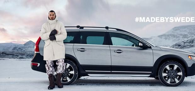 Confira o primeiro comercial de Ibrahimovic para a Volvo (Foto: Divulgação)