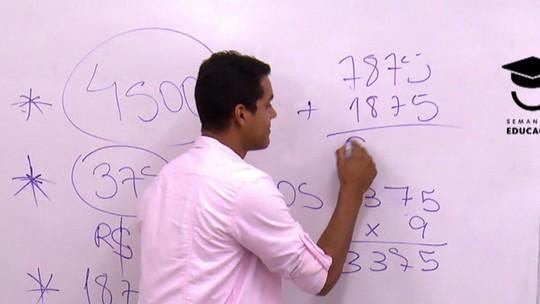 No Dia do Professor, Marcello Melo Jr. realiza sonho e dá aula de matemática