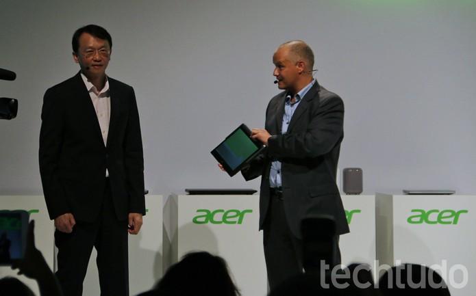 Acer IFA 2014 (Foto: Fabricio Vitorino/TechTudo)