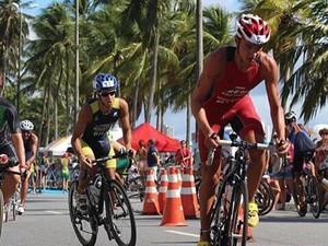 Edivanio Monteiro teve a bicicleta roubada durante a prova (Foto: Arquivo Pessoal)