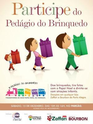 Pedágio do Brinquedo de 2012 (Foto: Divulgação)