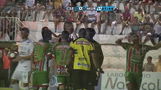 Murici vence CSE em jogo marcado por erro do árbitro Francisco Carlos