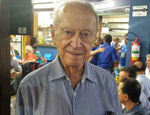 José Francisco Lemos Filho, vice - presidente do Cruzeiro  (Foto: Marco Antônio Astoni)