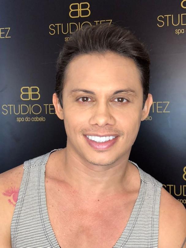 Silvero Pereira passa por transformação no visual (Foto: Divulgação)