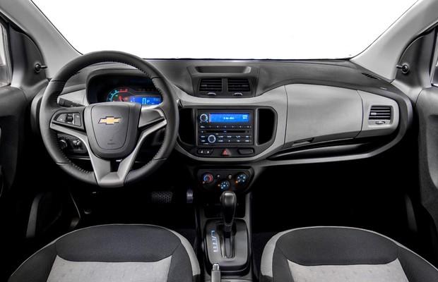interior da Chevrolet Spin 2016