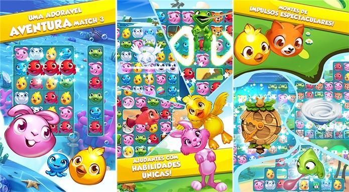 Puzzle Pets é um adorável game ao estilo Candy Crush para Windows Phone (Foto: Divulgação/Windows Phone Store)