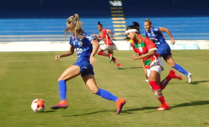 São José x Portuguesa Futebol Feminino (Foto: Divulgação/São José)