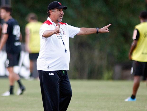 Joel Santana, treino Flamengo (Foto: Marcia Feitosa / Vipcomm)