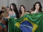 No clima da Copa, bailarinas contam em quem dariam uma 'mordidinha'