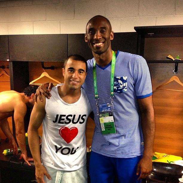Lucas Moura Tieta Kobe Bryant: 'Tive O Prazer De Conhecer