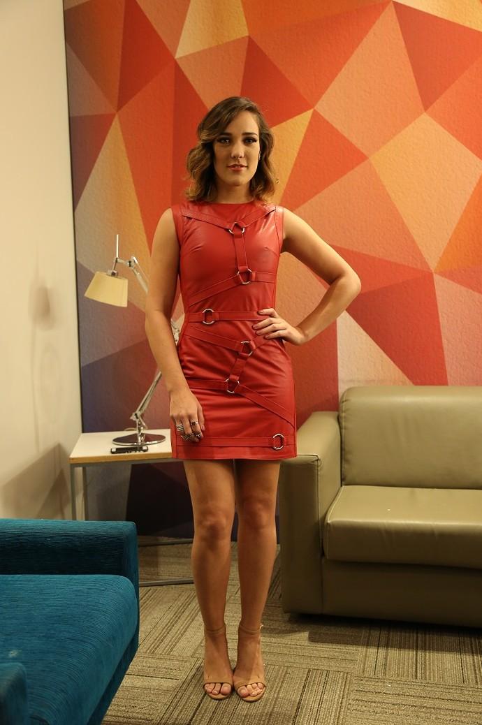 Adriana Birolli passou a gostar ainda mais de moda após Lorena (Foto: Carol Caminha/Gshow )