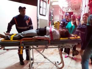 Mulher sobreviveu a dois acidentes na BR-020 (Foto: Ivan Gehlen/ Blog Braga)