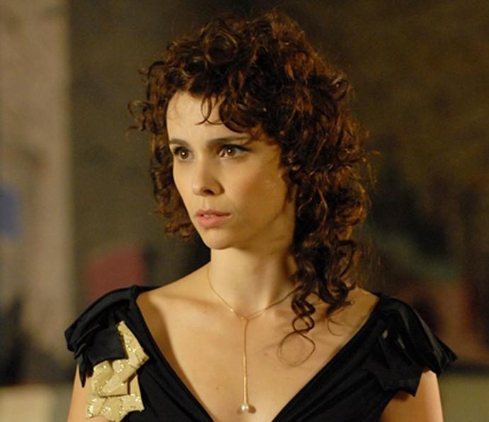 Em 'A Mulher Invisível', Débora Falabella era a mulher de Selton Mello (Foto: TV Globo)