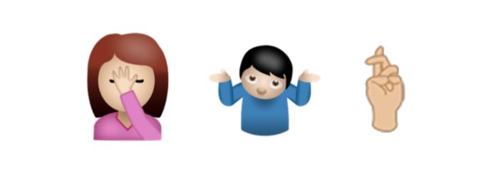 Possíveis novos emoji que farão parte do Unicode 9 (Foto: Reprodução/Emojipedia)