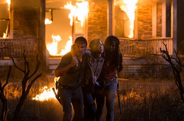 Cena de 'The walking dead' (Foto: Gene Page/AMC)