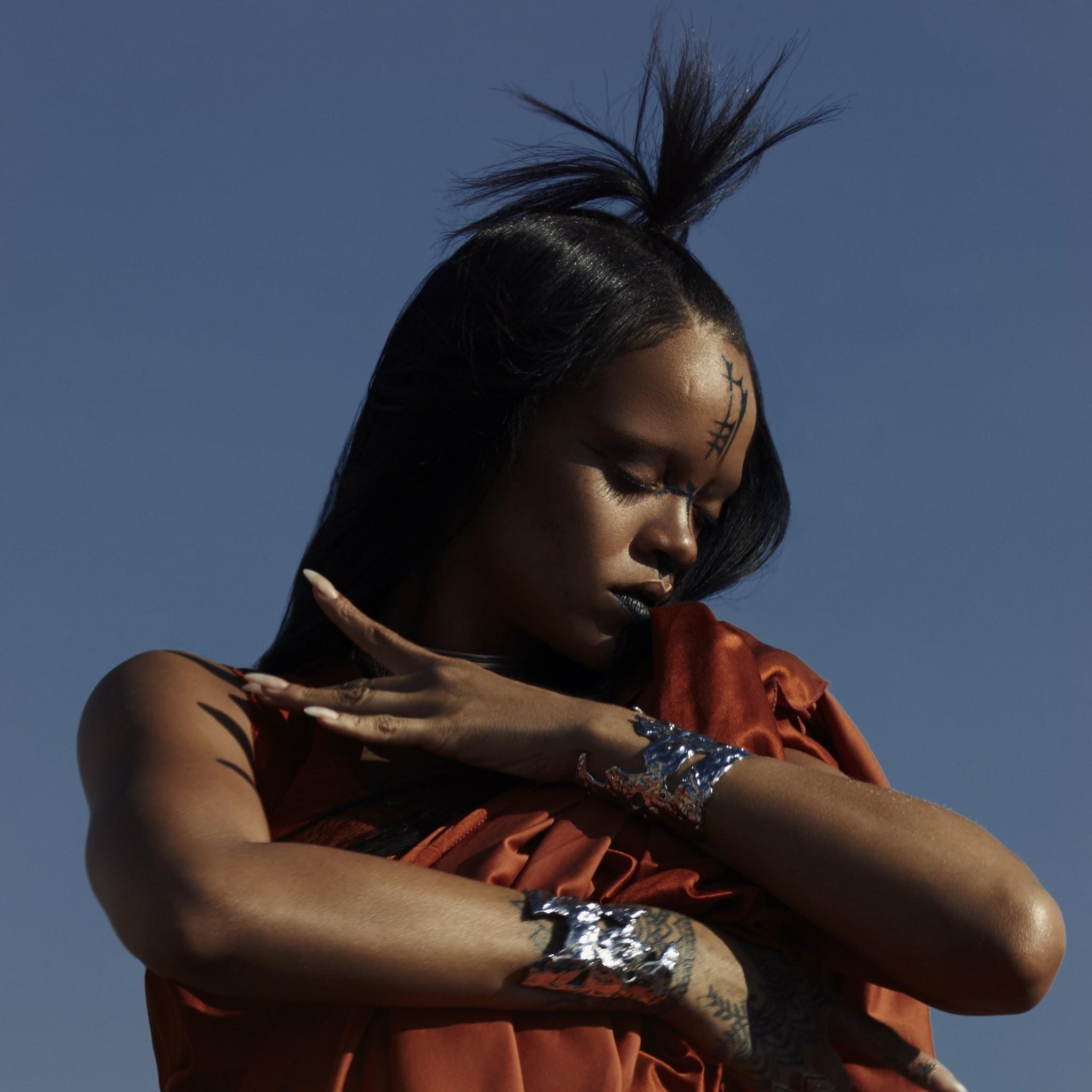 Rihanna no deixou ningum com fome em Manchester (Foto: Reproduo/Instagram)
