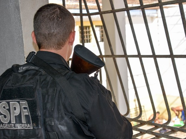 Atividades para os presos fazem parte de nova rotina estabelecida (Foto: Divulgação / Sejuc)