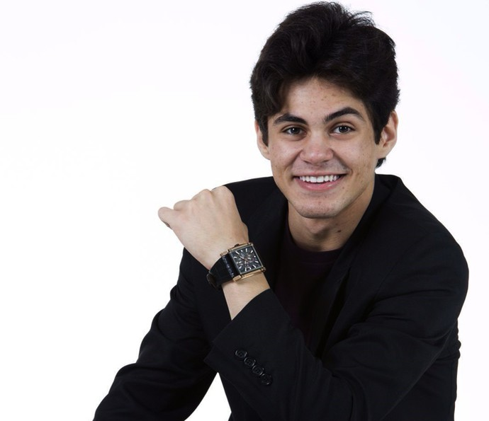 Lucas Veloso estreia na TV em Velho Chico  (Foto: Arquivo pessoal )