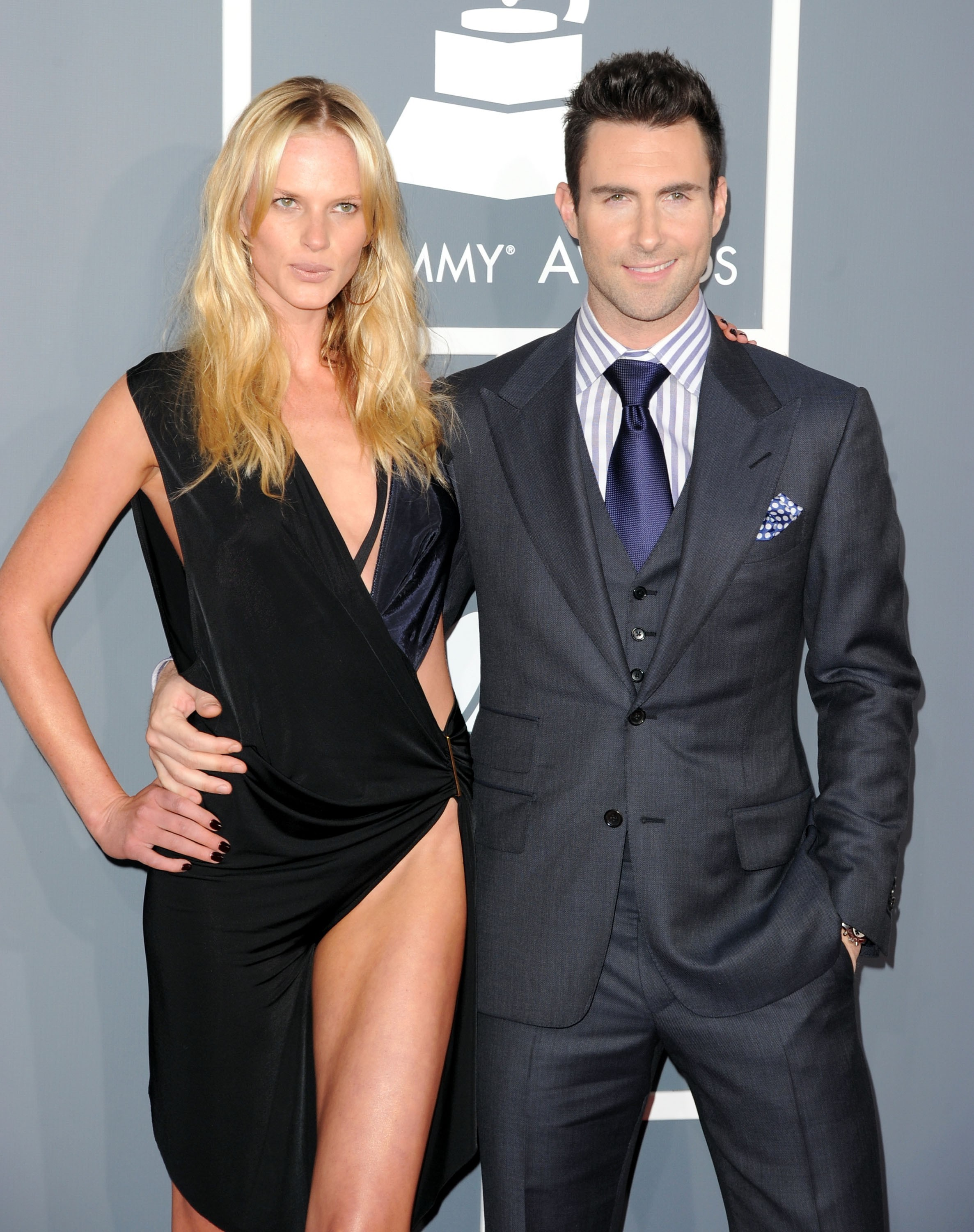 Anne Vyalitsyna e Adam Levine (Foto: Getty Images)