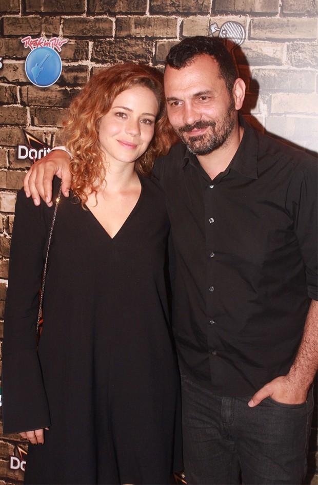 Leandra Leal e o marido, Alê Youssef (Foto: Sergio Gallo / Ed. Globo)