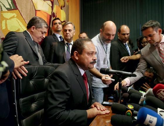Waldir Maranhão presidente da Câmara  (Foto: Adriano Machado / Reuters)