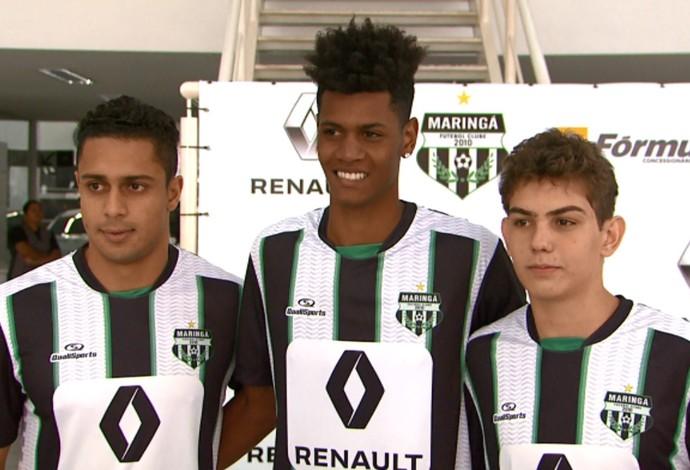 Paulo Henrique Luiz Gustavo Lucas Tottene Maringá (Foto: Reprodução/RPC)