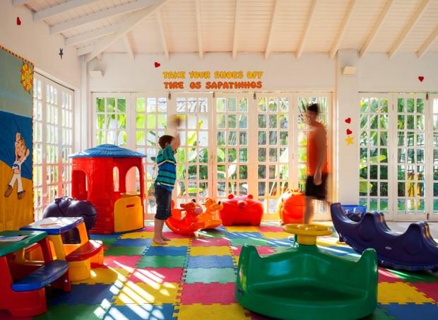 Casa da Criança oferece diversas atividades para os pequenos hospedados no hotel (Foto: Divulgação)