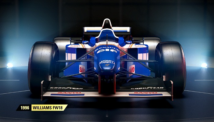 Williams de 1996 estará no game F1 2017