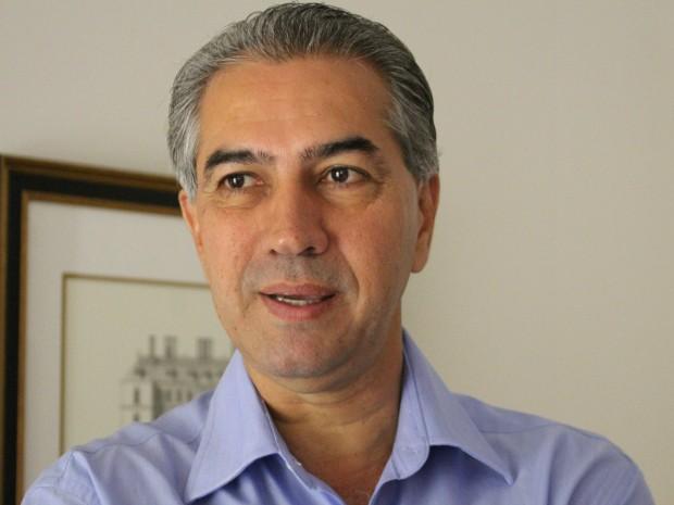 Reinaldo Azambuja, governador eleito de MS, diz que secretariado terá perfil técnico (Foto: Gabriela Pavão/ G1 MS)