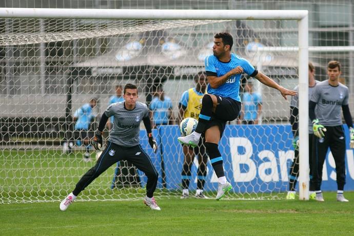 Marcelo Grohe Grêmio  (Foto: Lucas Uebel/Divulgação Grêmio)