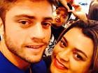 Preta Gil curte folga com o novo namorado: 'My love'