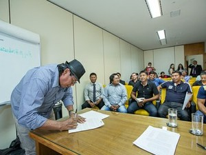 Etnia Xkrin cria Termo de Ajustamento de Conduta para garantir indenização da Vale (Foto: Ascom/PGR)