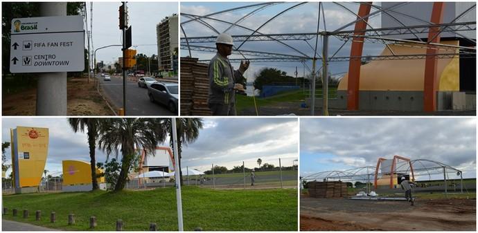 Fan Fest; Copa do Mundo; Porto Alegre (Foto: Claudio Medaglia/Portal da Copa)