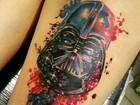 Amor por Star Wars faz fã acreana tatuar Darth Vader e citação Jedi