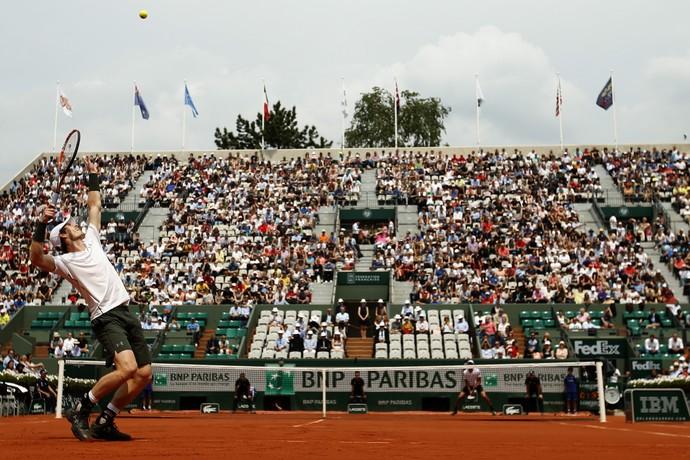 Andy Murray, Roland Garros, tênis (Foto: AP)