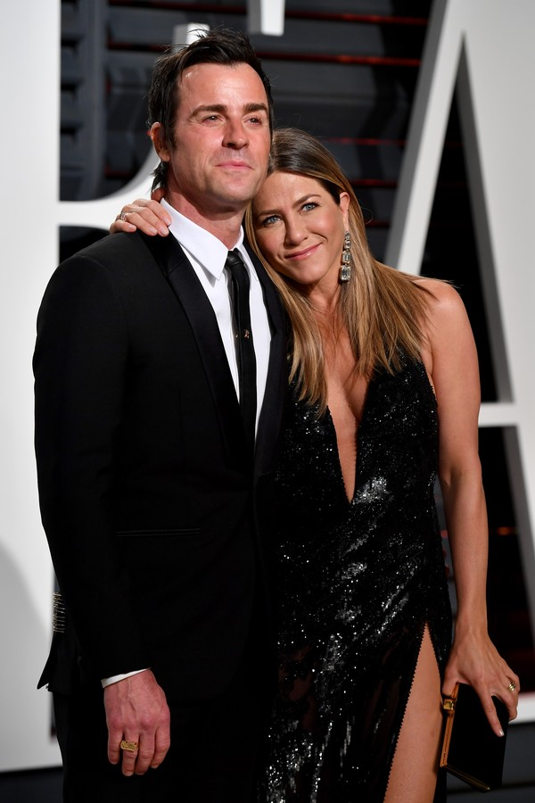 Justin Theroux e Jennifer Aniston (Foto: Getty Images)