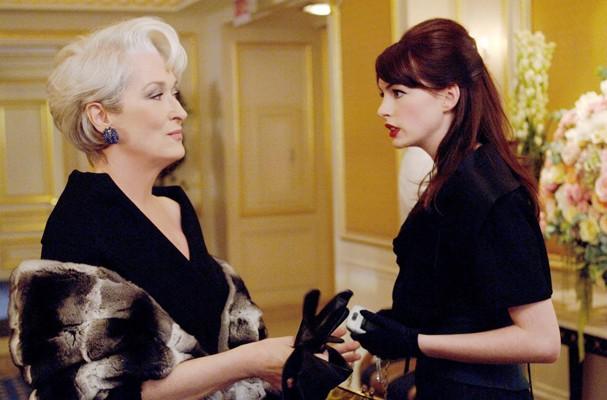 """Cena de """"O Diabo Veste Prada"""" - """"Miranda, precisamos conversar..."""" (Foto: Divulgação)"""