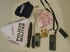 Após perseguição, três assaltantes são presos em Uruana de Minas