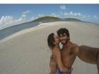 Deborah Secco posta foto com Hugo Moura: 'O grande ano da minha vida'