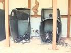 Grupo fortemente armado explode caixas eletrônicos em Viradouro, SP