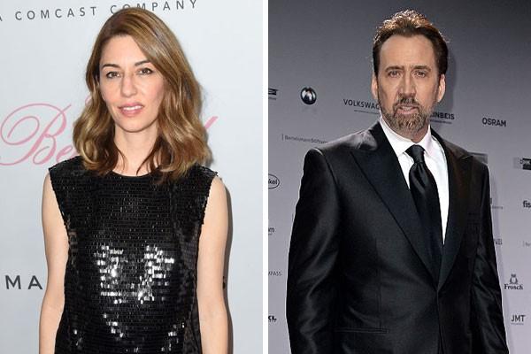 Os primos Sofia Coppola e Nicolas Cage (Foto: Getty Images)
