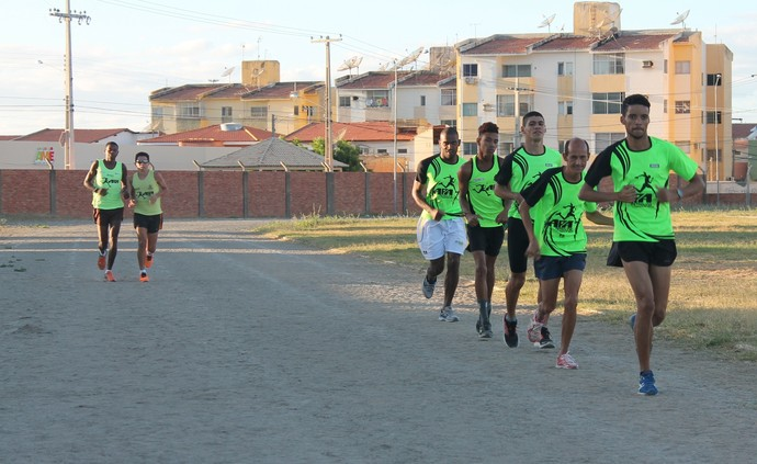 Equipe da APA tem último treino antes do Circuito Nacional Paralímpico (Foto: Amanda Lima)