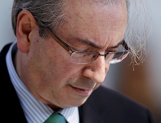 Eduardo Cunha presidente da Câmara afastado (Foto: Ueslei Marcelino/Reuters)