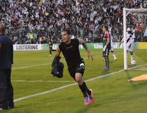 Ronny comemora gol no empate em 1 a 1com o Vasco (Foto: Savio Hermano / GLOBOESPORTE.COM)