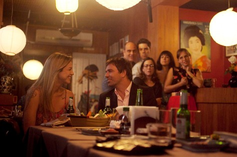 Marcelo Faria e Luana Piovani em 'Amor Verrisimo' (Foto: Bruno Poppe )