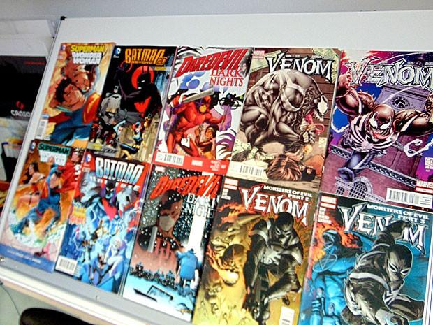 O ilustrador pernambucano Thony Silas tem no currículo HQ's do Homem Aranha, Venom e Batman (Foto: Thony Silas / Arquivo pessoal)