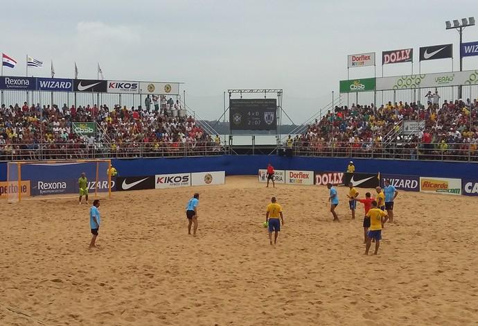Brasil e Uruguai fizeram o 1º Desafio dos Reis (Foto: André Rodrigues)