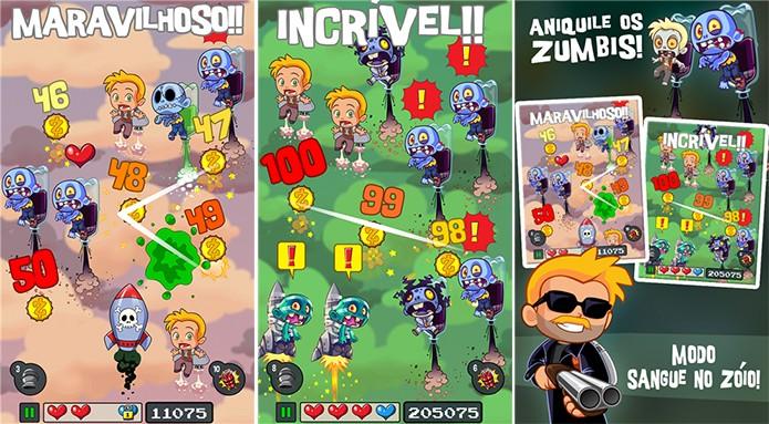Jetpack Zombie Slayer é um game onde usuário deve destruir zumbis voadores (Foto: Divulgação/Windows Phone Store)