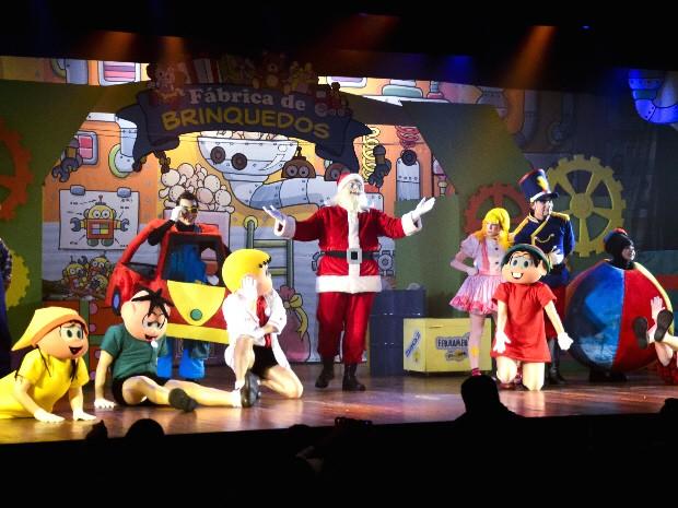 Turma da Mônica traz a magia do Natal para o Teatro Colinas, em São José. (Foto: Divulgação)